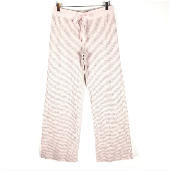 Sonoma Other - Sonoma Pink Gray Stripe PJ Pants Small